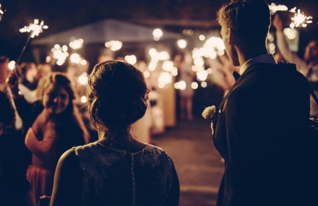 Les invités lors du mariage