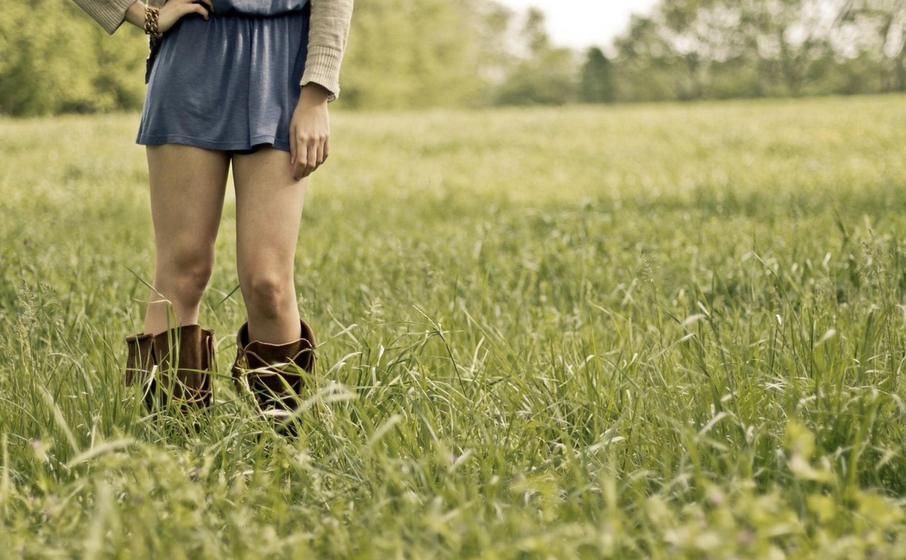 Une jupe pour les fesses bombées
