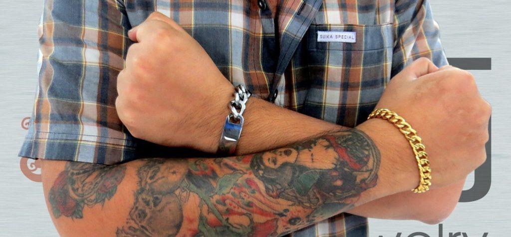 Des bracelets pour homme