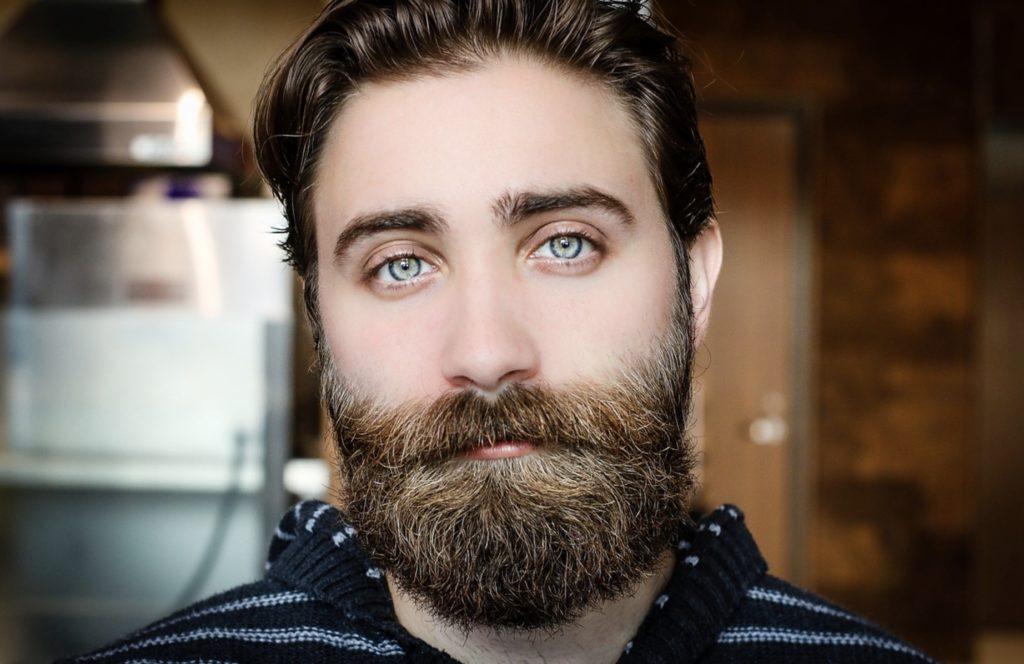 La barbe d'un homme à entretenir